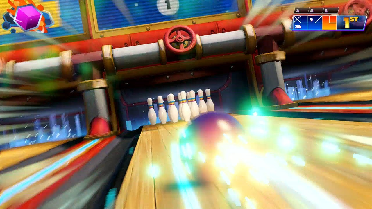 Kinect Sports Rivals Bowling tutorial Xbox One gameplay