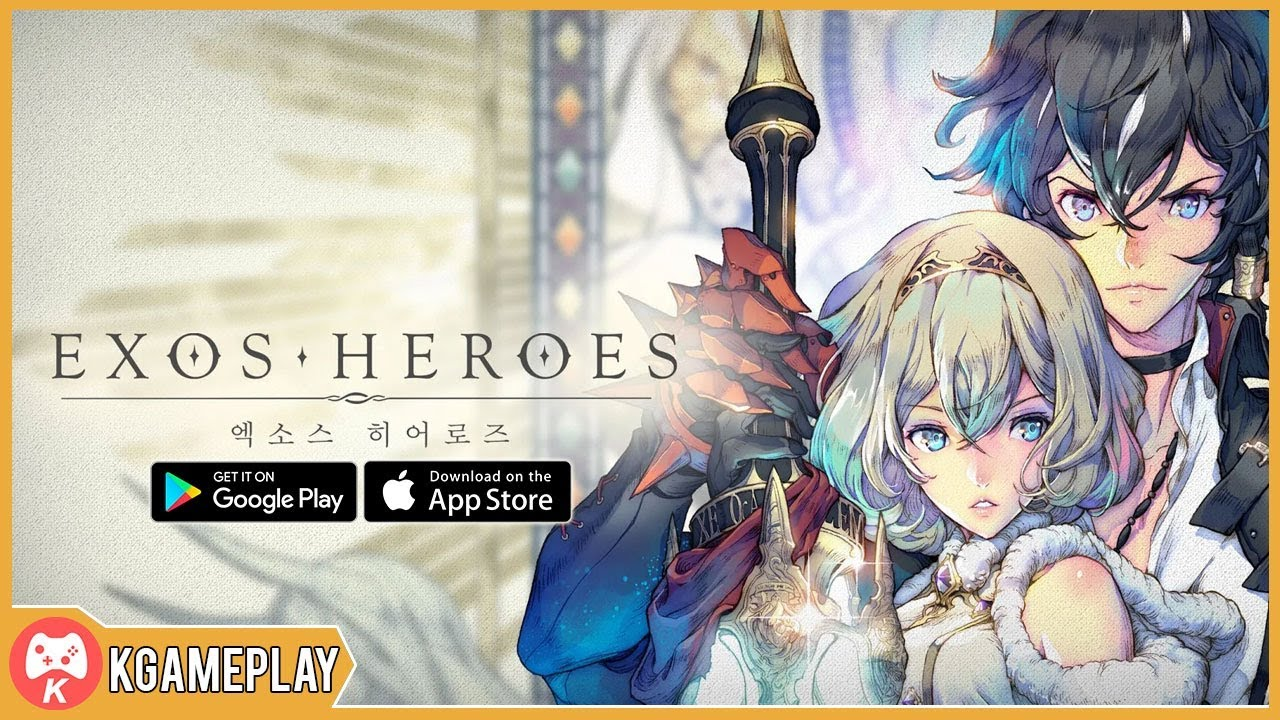 Exos Heroes - Prologue Gameplay - Closed Beta - Android on