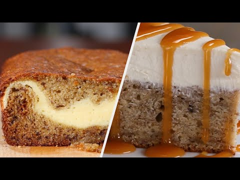 12 Delicious Banana Breads For The Whole Family •Tasty