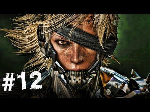 Metal Gear Rising Revengeance Gameplay Walkthrough Part 12 - Monsoon Boss - Mission 4