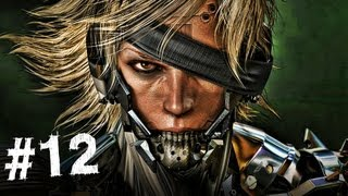 Metal Gear Rising Revengeance Gameplay Walkthrough Part 12 - Monsoon Boss - Mission 4