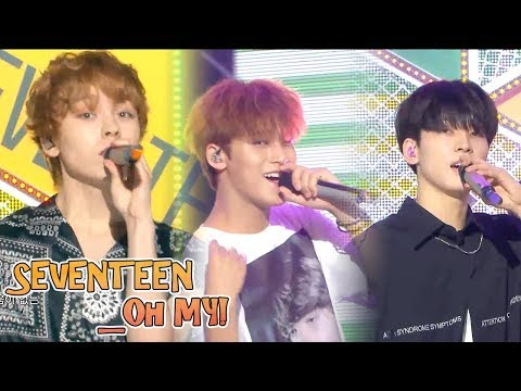 [Comeback Stage]SEVENTEEN - Oh My!, 세븐틴 - 어쩌나  Show  Music Core 20180721