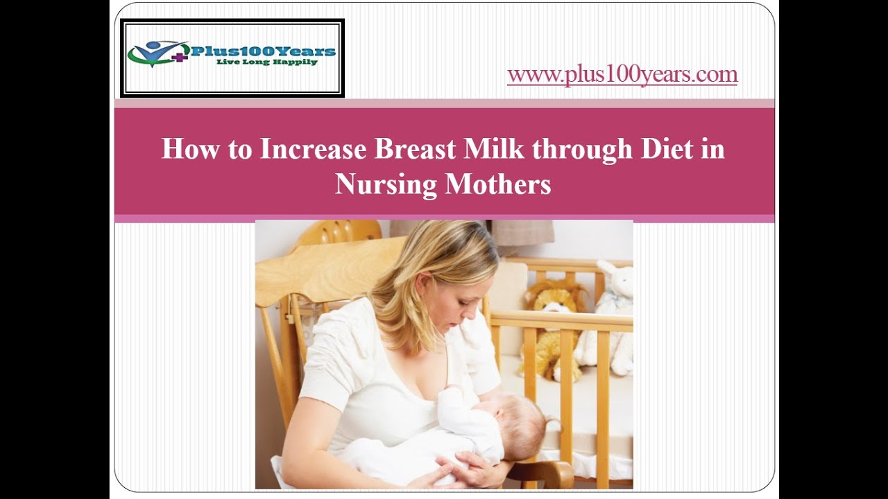 Top 5 Diet Plans To Increase Breast Milk For Breastfeeding Mother