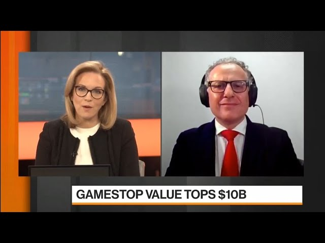 27 Jan 2021, Thanos Papasavvas on Bloomberg TV discussing S&P, Bitcoin, Fed and market sentiment