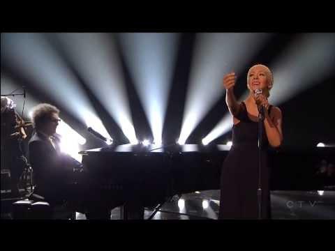 Say Something Live American Music Awards 2013 Christina Aguilera & A Great Big World