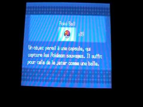 Astuce Pokemon Noir 2 pour avoir Vivaldaim lvl 30 Gratuitement . :)