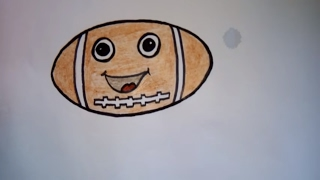 how to draw a football learn how to draw rugby ball