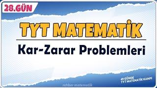Kar Zarar Problemleri  49 Günde TYT Matematik Kampı 28.Gün  Rehber Matematik
