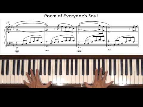 Poem Of Everyones Soul Persona 3 Piano Tutorial Youtube