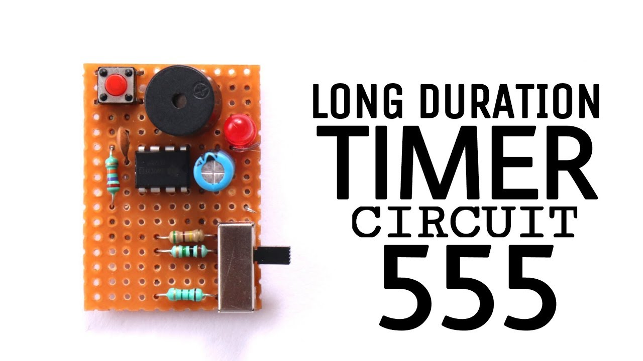 Multi duration Timer circuit using 555 ic | 5 to 15 minutes timer