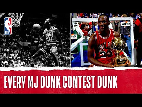 EVERY Michael Jordan Dunk Contest Dunk! 1985, 1987, 1988