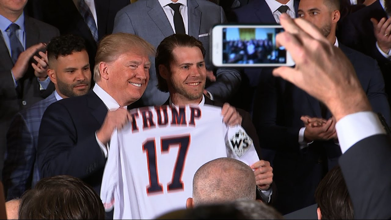 Trump Honors World Series Champion Astros