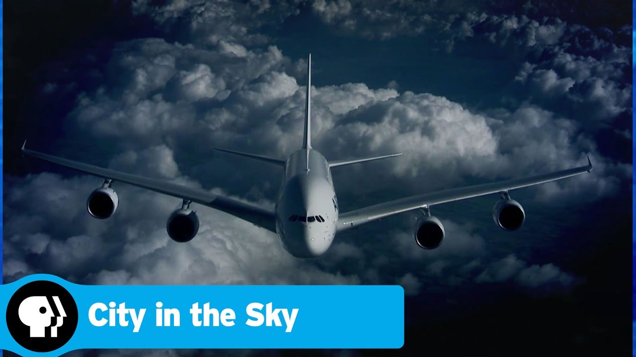 How Pilots Find Their Way in the Sky | CITY IN THE SKY | PBS