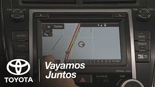 Toyota: Cómo Usar Navigación| 2014.5 Camry| Toyota