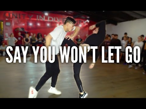JAMES ARTHUR  Say You Wont Let Go  Kyle Hanagami Choreography