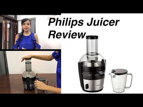 Philips Juicer Viva Collection HR1863/20 2-Litre  Review / Philips Juicer Unboxing & Review Hindi