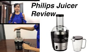 Philips juicer Viva Collection HR1863/20 2-Litre Review / Philips Juicer Unboxing & Review