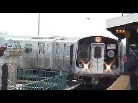 BMT Jamaica Line: Manhattan-bound R179 J Train Action@Crescent Street/Alabama Avenue