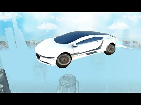 Futuristic Flying Car Driving - Android Gameplay HD