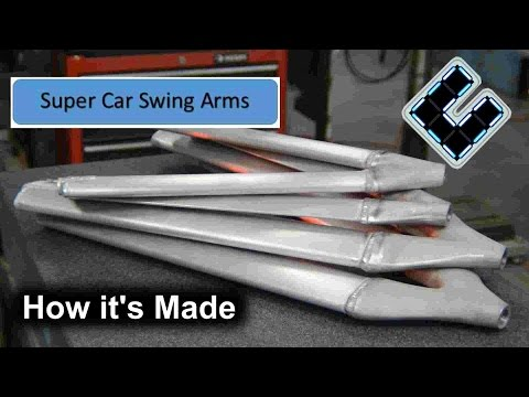 A new Super Car is coming, Building The A Arms