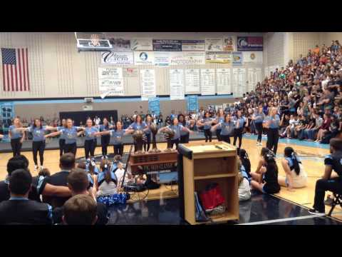 Pueblo West High School Dance Team Pigskin Assembly 2015