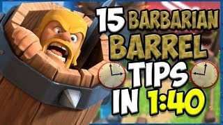 15 QUICK Tips About: Barbarian Barrel⚔️- Clash Royale