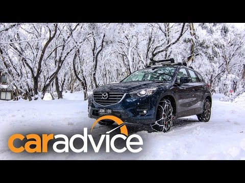 Top 10 tips for driving to the snow : Mazda CX-5 Akera