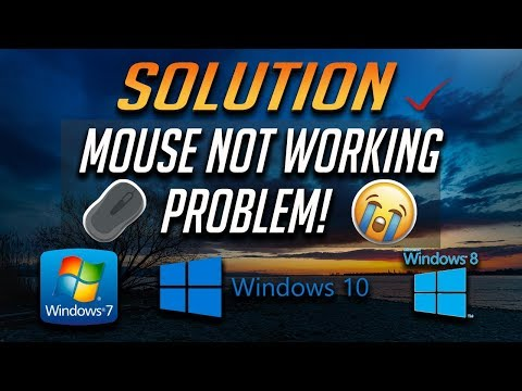 How To Fix Mouse Not Working Problem In Windows PC [Windows 10/8/7]
