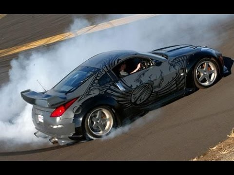 NFSU2 - How To Make The Tokyo Drift 350z - YouTube