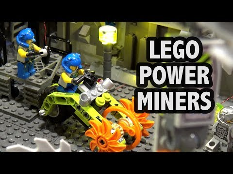 LEGO Power Miners Battle Scene | Brickworld Chicago 2018