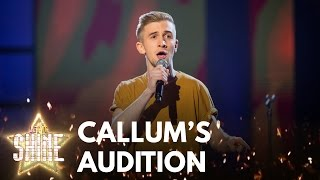 callum howells performs youll be back from the musical hamilton let it shine bbc one