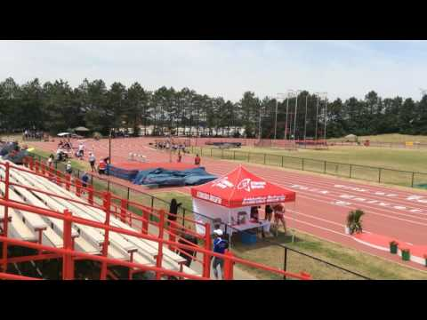 Men 800m Athletics Ontario Junior Championship 2016 heat 4