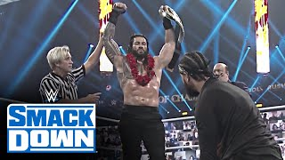 Look back at Roman Reigns and Jey Uso's brutal Universal Title Match: SmackDown, Oct. 2, 2020