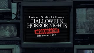 Halloween Horror Nights 2021 Teaser