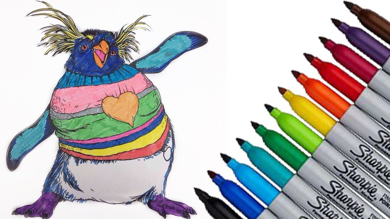 happy feet lovelace warner bros coloring page 2017 new hd video