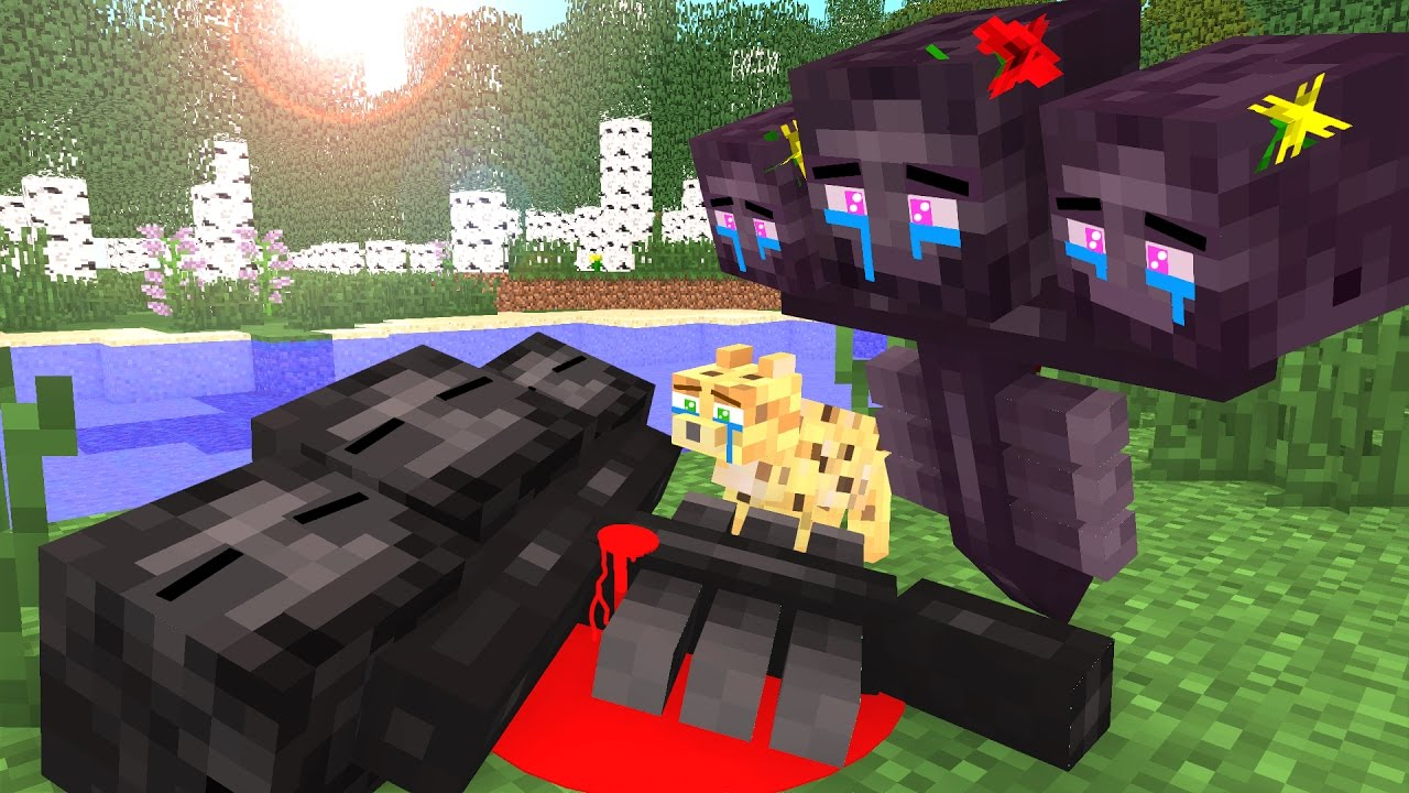 Wither Life Ii Minecraft Animation Youtube
