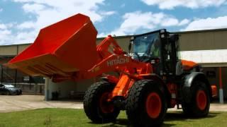 видео Hitachi запускает новую серию колесных экскаваторов