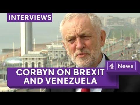 Jeremy Corbyn - full Jon Snow interview on Brexit, Venezuela and anti-Semitism