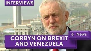 Jeremy Corbyn - full Jon Snow interview on Brexit, Venezuela and anti-Semitism thumbnail