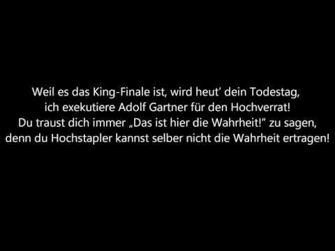 SpongeBOZZ - Leben und Tod des Adolf Gartner (Lyrics) [HQ]