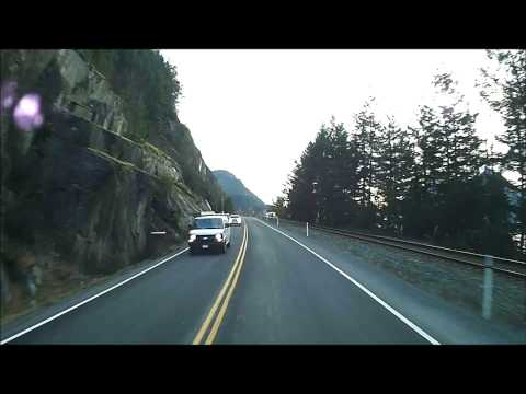 Fast Motion - Whistler to Vancouver on the Sea to Sky Highway in Super Speed