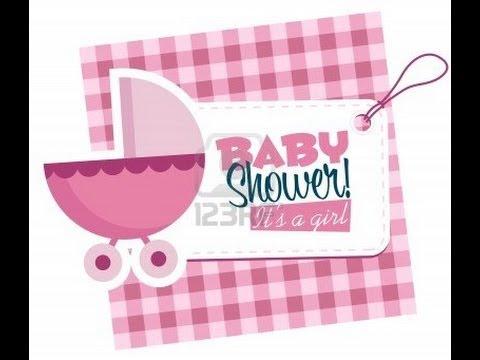 Hecho En Casa Como Hacer Tarjetas Invitacion Baby Shower Silvana Cocina Y Manualidades