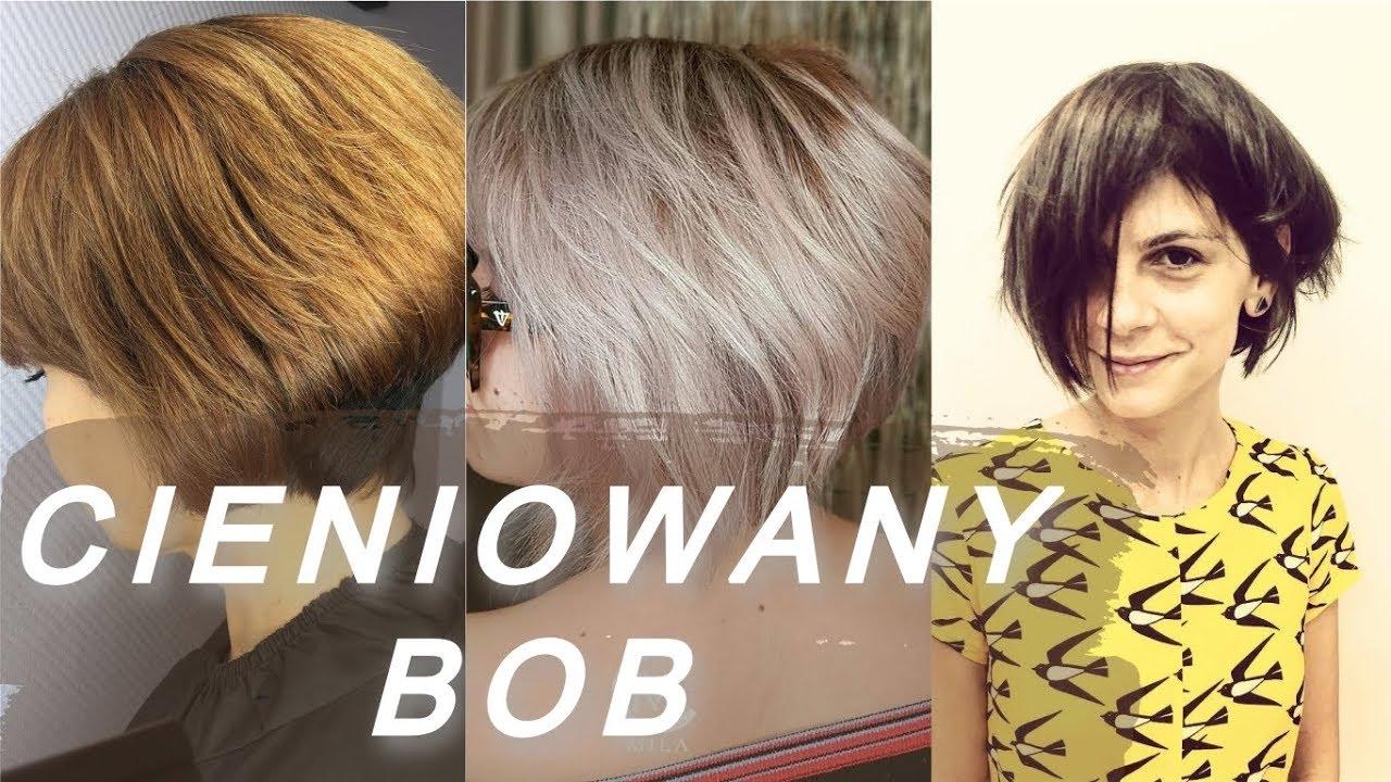 Top 20 Najmodniejsze Fryzury Bob Cieniowany