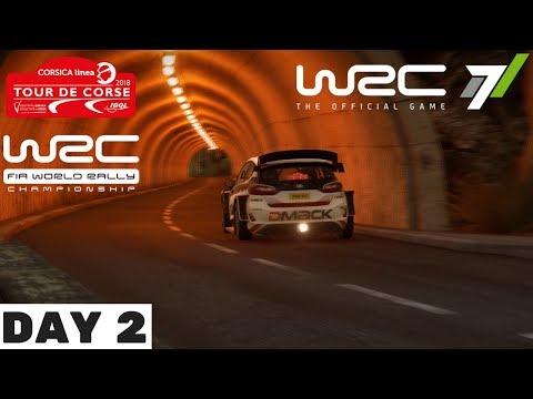 WRC7: 2018 Rally France Day 2 - WRC