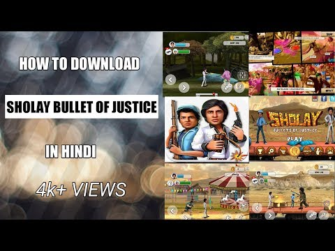 How to download sholay bullet of...