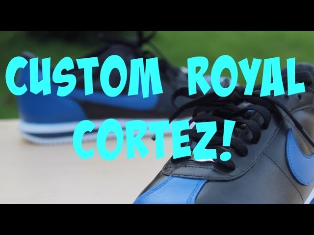 custom nike cortez