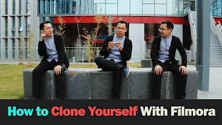 How to Clone Yourself with Filmora |Tutorial