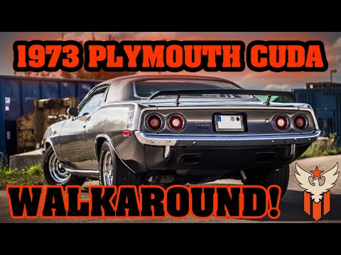 KULTCARS GERMANY - 1973 Plymouth Cuda 340/400 Stroker - Sound - Exhaust - Start Up!