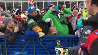 Shiffrin Gives Back at Killington World Cup