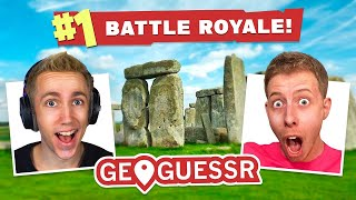 THE GREATEST DUO EVER IN GEOGUESSER BATTLE ROYALE!